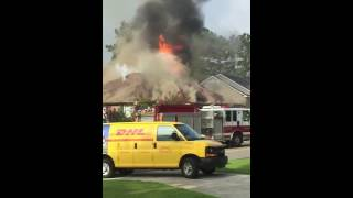Fire Fayetteville Nc August 8th