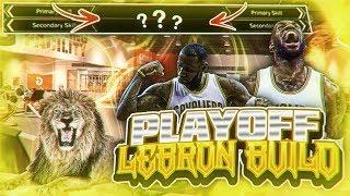 NBA 2K18 PLAYOFF LEBRON BUILD • NBA 2K18 GOAT BUILD?? • NBA 2K18 BEST ALL AROUND BUILD