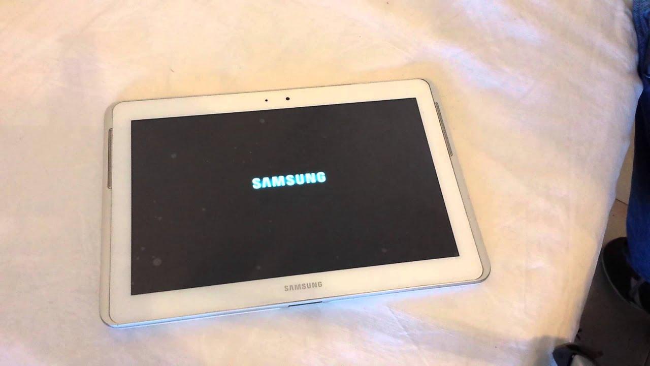 Galaxy Tab 2 Reset