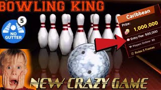 BOWLING KING NEW CRAZY MINICLIP GAME SHOULD WE ADD IT IN OUR GAMING PROGRAM/KING CAP GAMING