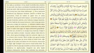 kuranı kerim Sayfa 77 diyanet portalı Nisâ Sûresi Sayfa 77 Ayet Ayet 3840x2160 4K qoran