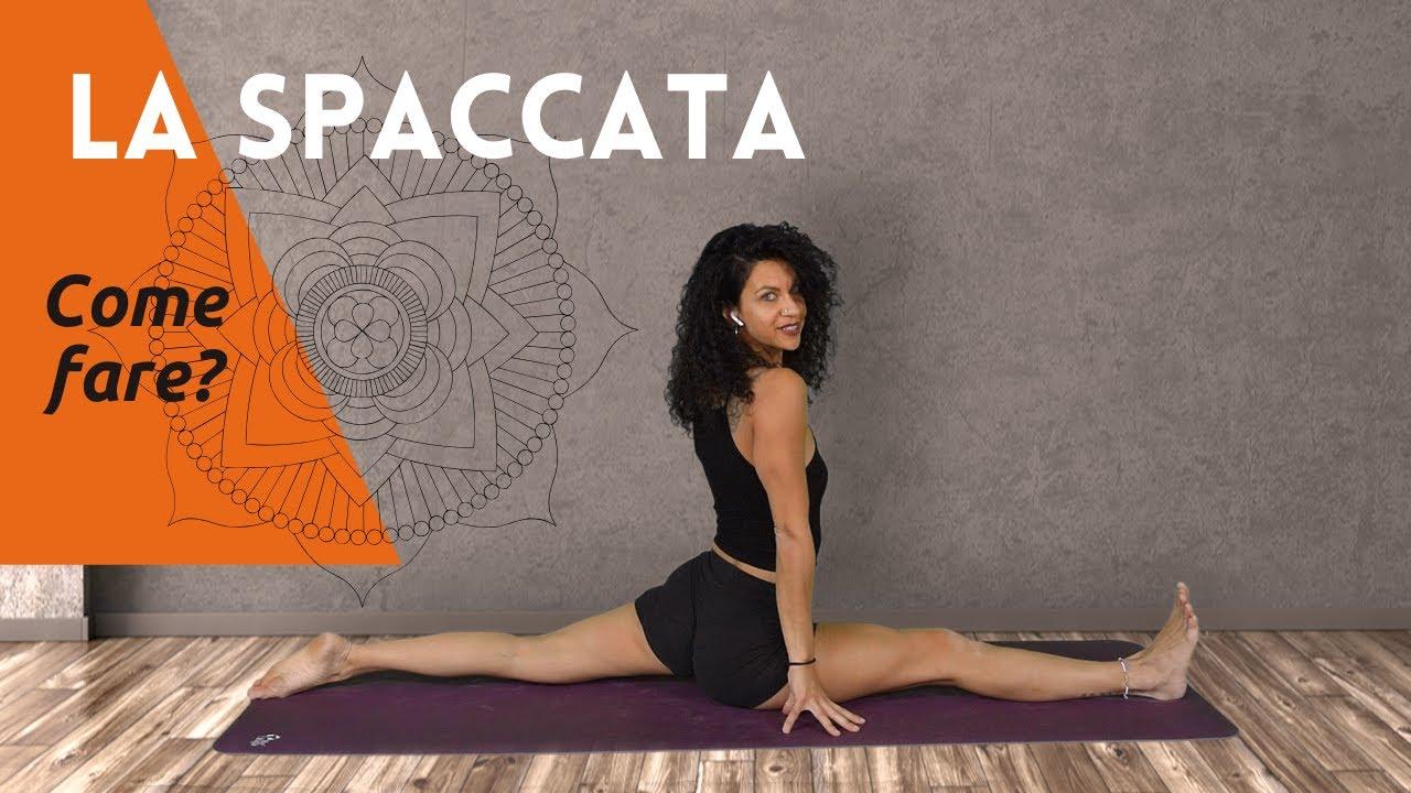Yoga esercizi per la Spaccata come fare Hanumanasana