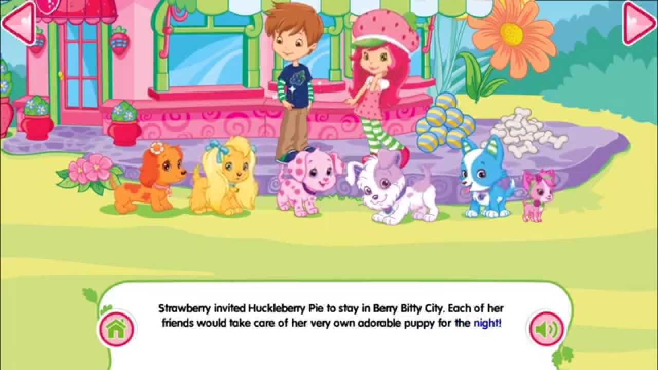 Strawberry Shortcake Perfect Puppy Doctor Youtube
