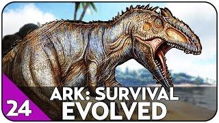 GIGANTOSAURUS - NOWY DINOZAUR - PIMP MY REX - ARK: Survival Evolved #24 [PL/HD]