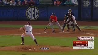 Baseball: Highlights | A&M 4, Auburn 1