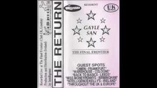 Gayle San - At  Final Frontier Club UK -  Nov 1994
