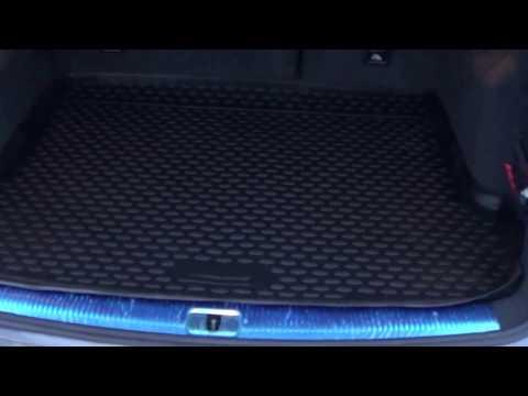 АВ АКС.РУ Коврик в багажник Audi Q5 с 2009 по наст. время, полиуретан, Novline Autofamily