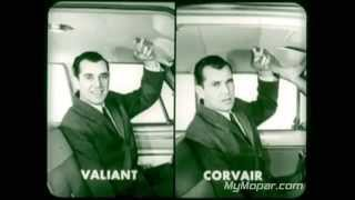 1960 Plymouth Valiant vs Chevrolet Corvair Dealer Promo Film