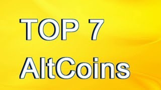 Top 7 Altcoins To Pay attention to in the world of Cryptocurrencies