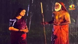 Sri Mantralaya Raghavendra Swamy Mahatyam Scenes - Goddess appears before Rajnikanth