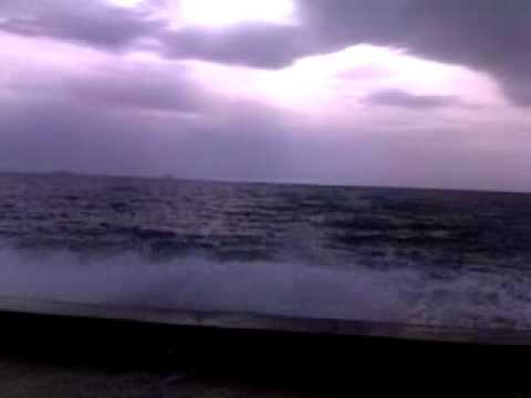 Storm at sea side 2