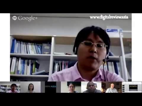 e-DIRAP Google+ Hangout on Climate Change and ICTs, 20 June 2013
