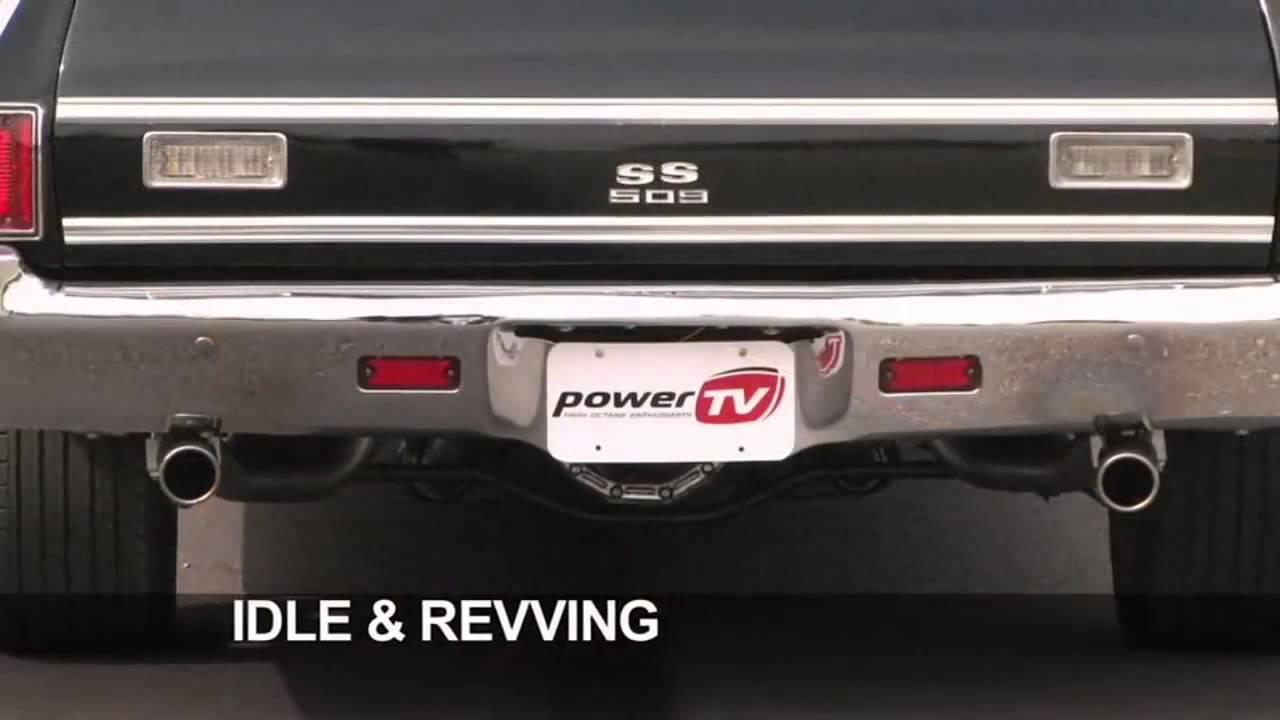 flowmaster super 10 series muffler exhaust sound on 1972 chevy el camino ss