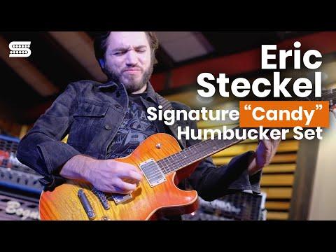 "Eric Steckel's Signature ""Candy"" Humbucker Set | Seymour Duncan Custom Shop"