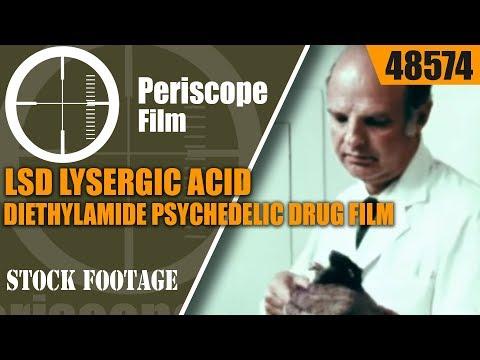LSD LYSERGIC ACID DIETHYLAMIDE  PSYCHEDELIC DRUG FILM 48574