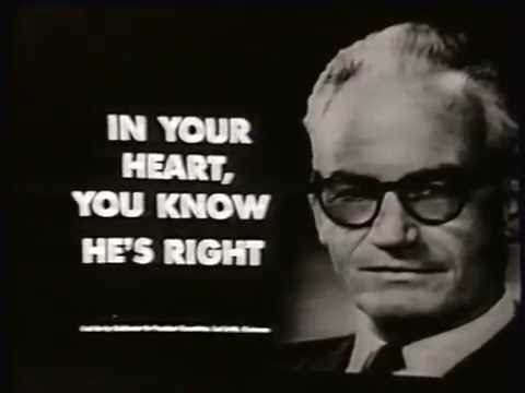 Barry Goldwater 1964 Campain Ad - Lyndon Johnson
