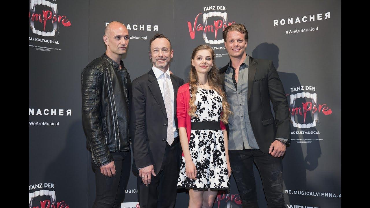 Tanz Der Vampire Im Ronacher Unsere Premieren Cast 2017 Youtube