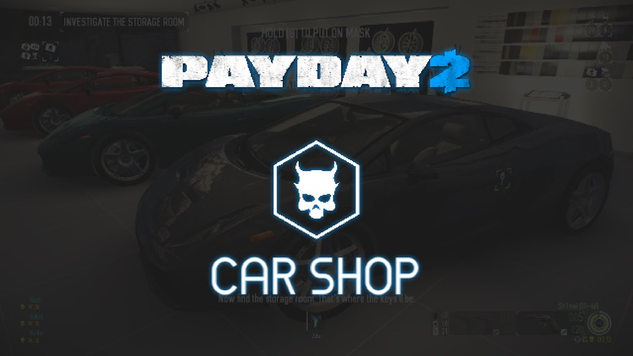 Payday  Car Shop Solo