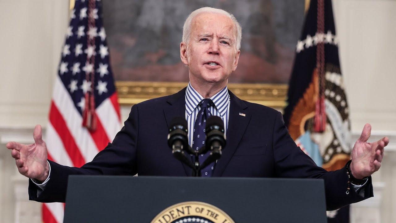 Biden: Senate passing relief bill puts U.S. on track to beat coronavirus - 3/6 (FULL LIVE STREAM)