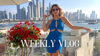 DUBAI WEEKLY VLOG: Palm brunch, Bluewaters and The Pointe