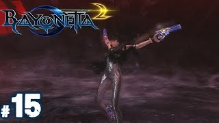 Bayonetta 2 Walkthrough Part 15 - HELL SUCKS!!