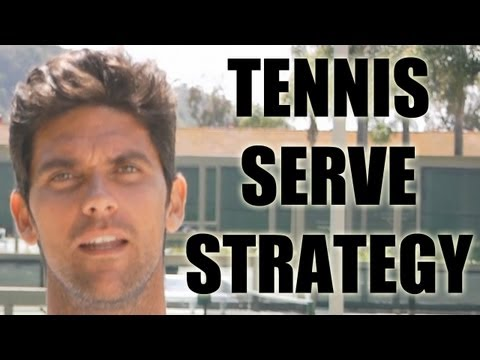 Tennis Serving Strategy with Mark Philippoussis