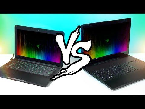 Razer Blade vs Razer Blade Pro Gaming Laptop Comparison!