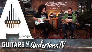 Just in! A couple of awesome Fender Custom Shop 59 Strats + the end jam you don't want to miss!!! Video