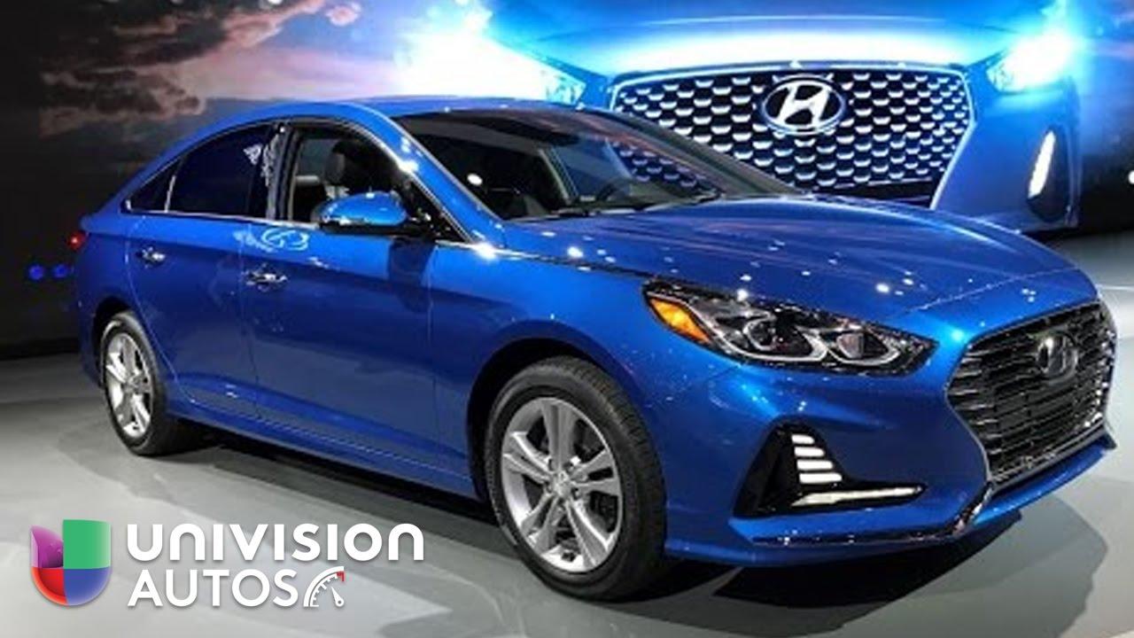 Video: El Hyundai Sonata 2018 aparece mejorado en el Auto ...