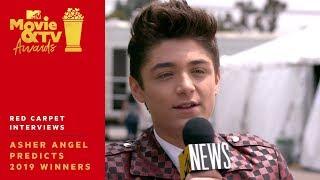 Asher Angel's Pop Culture Predictions: Avengers, Arya Stark, & More! | 2019 MTV Movie & TV Awards