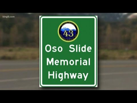 Portion of SR 530 renamed Oso Slide Memorial Highway