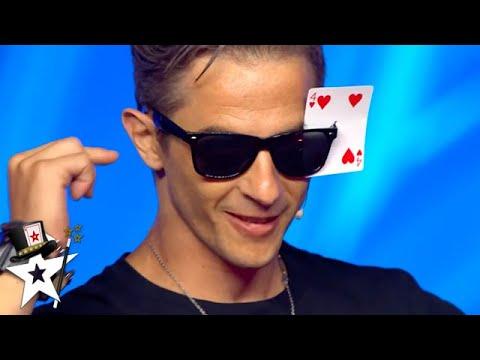 Card Magician Does Some NEVER SEEN Magic on Spain's Got Talent 2020 | Magicians Got Talent