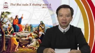 Thứ Hai tuần X Thường niên A - Lm Giuse Nguyễn Quốc Toản CSsR. Ngày 12/06/2017