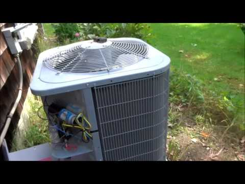 carrier compressor/condenser making funny noises