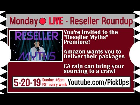Monday Reseller Roundup for May 20th 2019 - Premiere Reselling Myths Debunked - RESHOOT