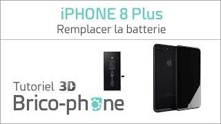 Tutoriel 3D iPhone 8 Plus : remplacer la batterie