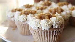 Apple Pie Cupcakes with Apple Filling - JessBakeIt - Episode 8