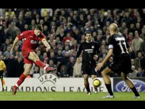 Liverpool 3  Olympiakos 1 - 2005  radio city commentry just listen