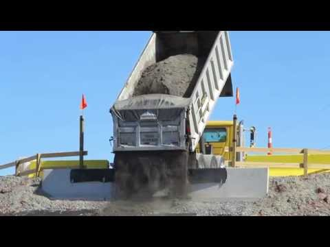First load of coal ash delivered at Brickhaven Mine