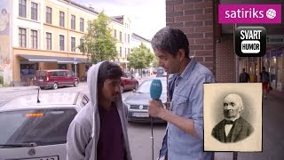 Svart Humor: Nynorsk på gata