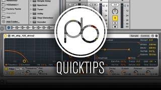 Ableton Live 9 QuickTip: Understanding Sampler's Filter