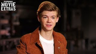 "Maze Runner: The Death Cure | On-set visit with Thomas Brodie-Sangster ""Newt"""