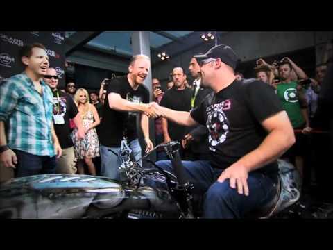 Gears of War 3 bike on American Chopper