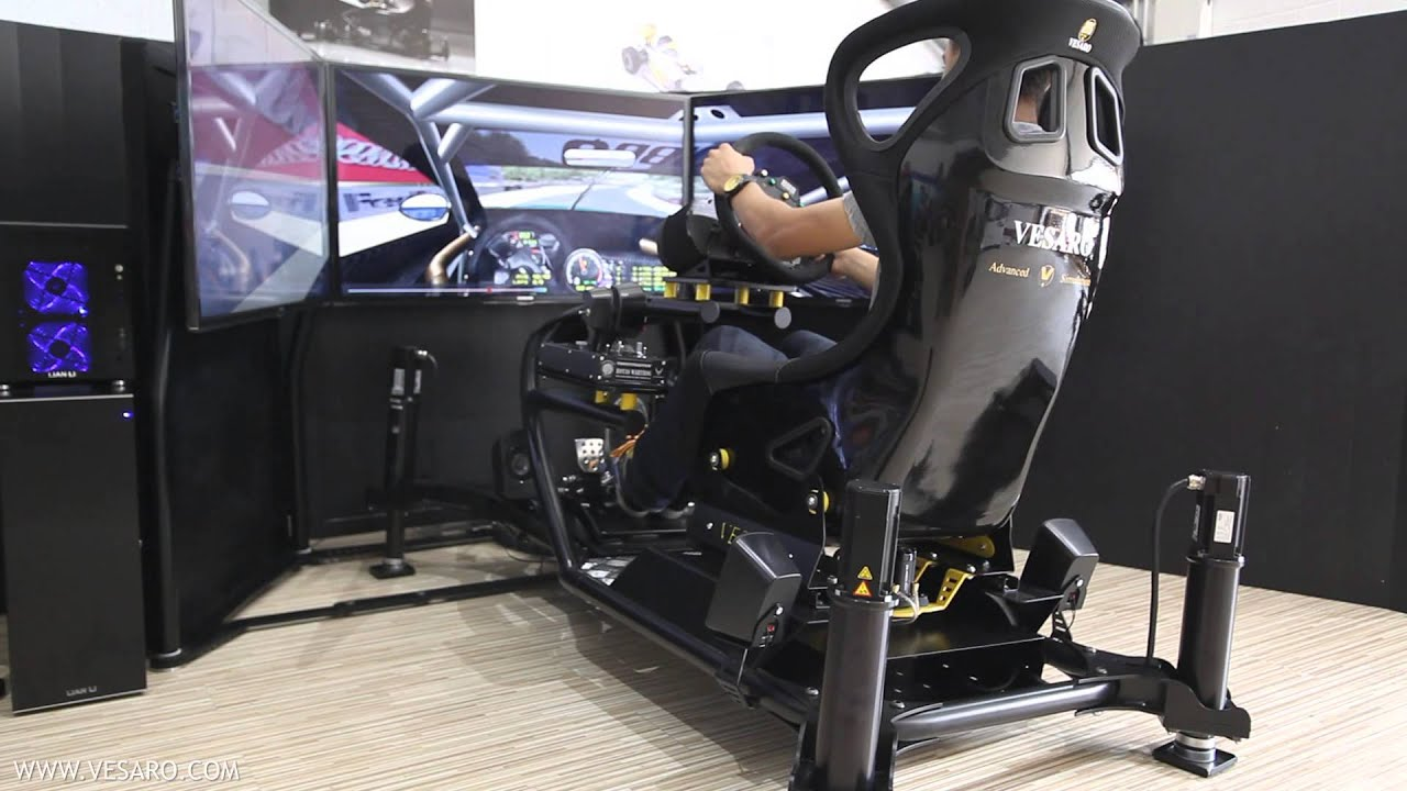 Vesaro VSpec Motion  Dual Controls in Race Mode  YouTube