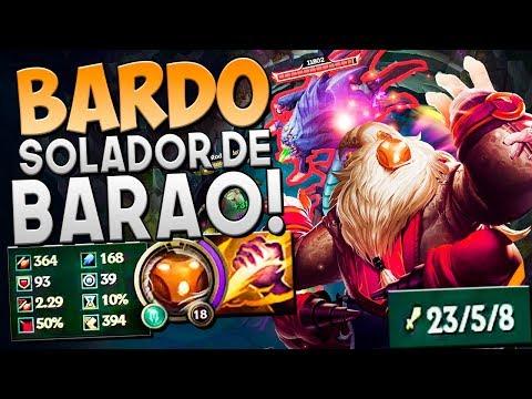 DESACREDITARAM DO MEU DANO E DO SOLO BARON!! - BARDO JUNGLE GAMEPLAY - Festinha do Rodil