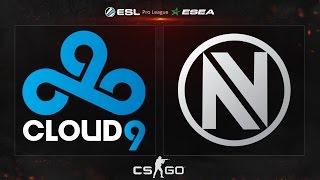 CS:GO - Cloud9 vs. EnVyUS [Dust2] - ESL ESEA Pro League Finals 2015 - Quarterfinal Map 1