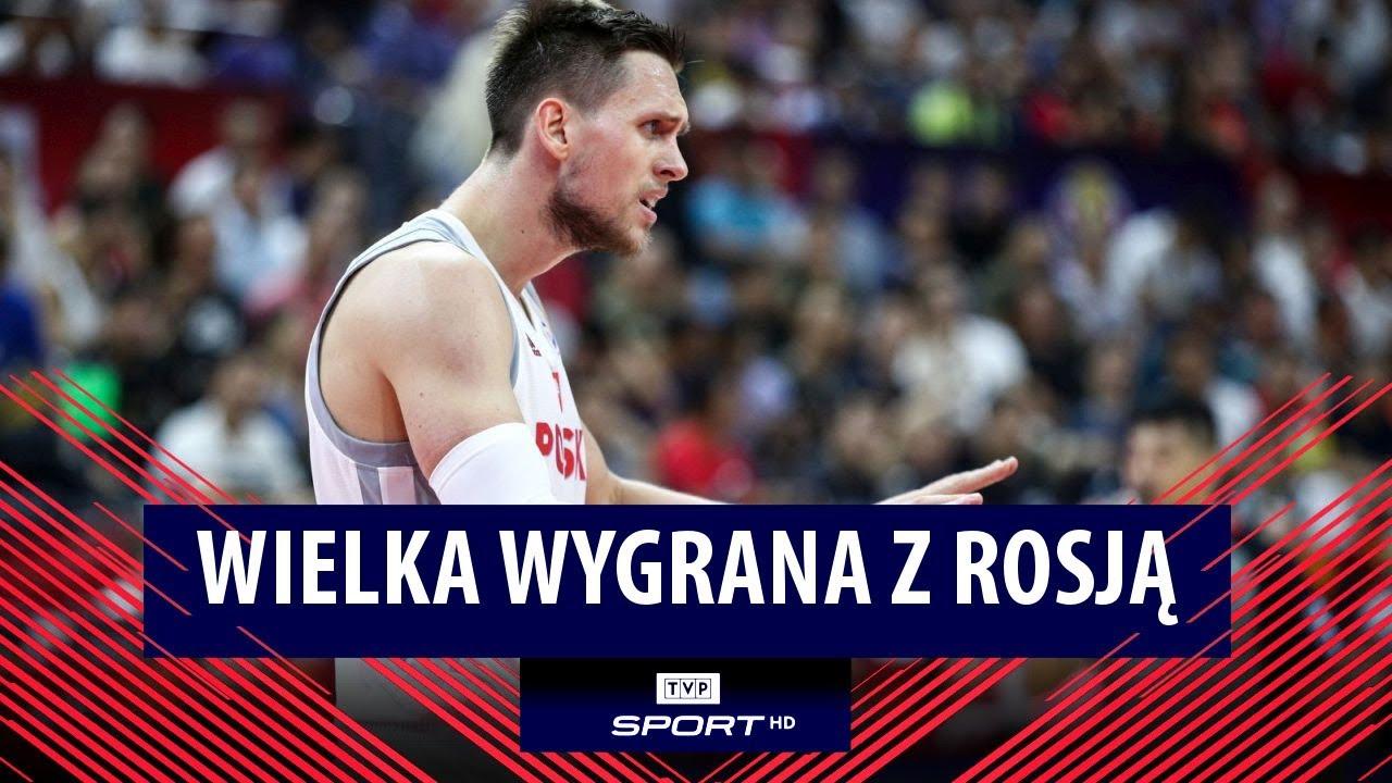 Tak walczą Polacy! Wielka wygrana z Rosją | FIBA MŚ 2019. Polska – Rosja 79:74 [SKRÓT]