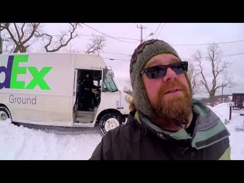 WINTER STORM 2015: STUCK LIKE A FEDEX TRUCK