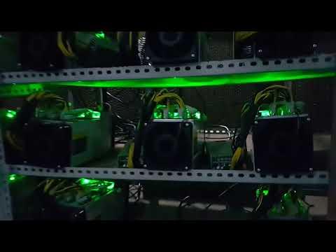 Btx Coin Live Bitcoin Mining Farm In  Chengdu China
