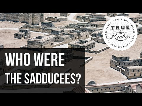 Who Were The Sadducees? - Ancient Israel 101